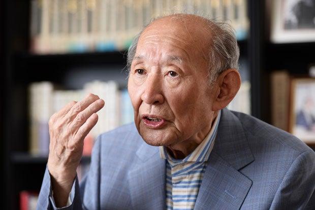 AERA dot.藤井裕久・元財務相 目の当たりにした東京大空襲の悲惨さ語る