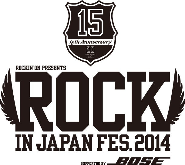 【ROCK IN JAPAN FESTIVAL 2014】タイムテーブル&BUZZ STAGE出演者発表