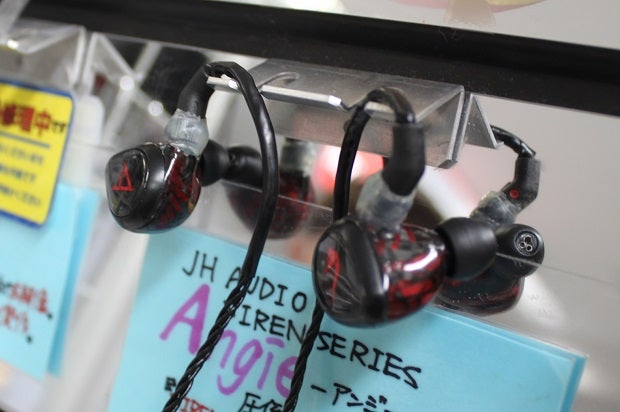 JH AUDIO Angie Universal Fit - JH Audio THE SIRENS SERIES(店頭価格14万2200円・税込み)