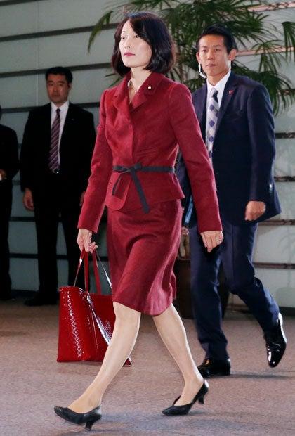 """ドン小西 丸川珠代大臣の""""赤づくし""""ファッションに物申す 〈週刊朝日 ..."""