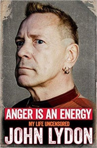 『Anger Is An Energy : My Life Uncensored』John Lydon