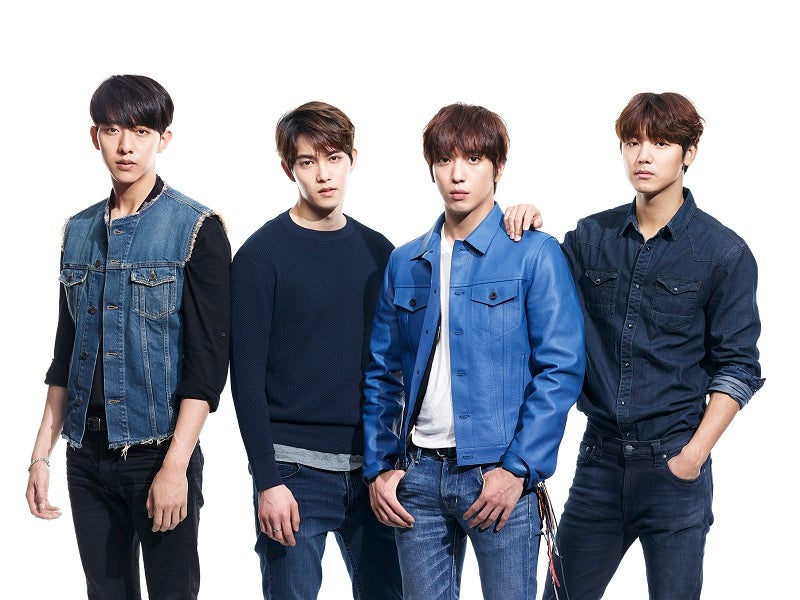 CNBLUE、2015年のアリーナツアー大阪城ホール公演をWOWOWで独占放送決定