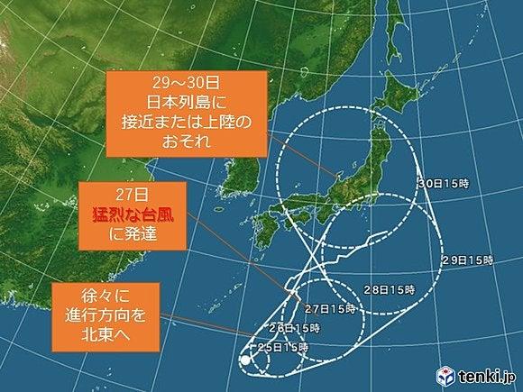2016年の台風