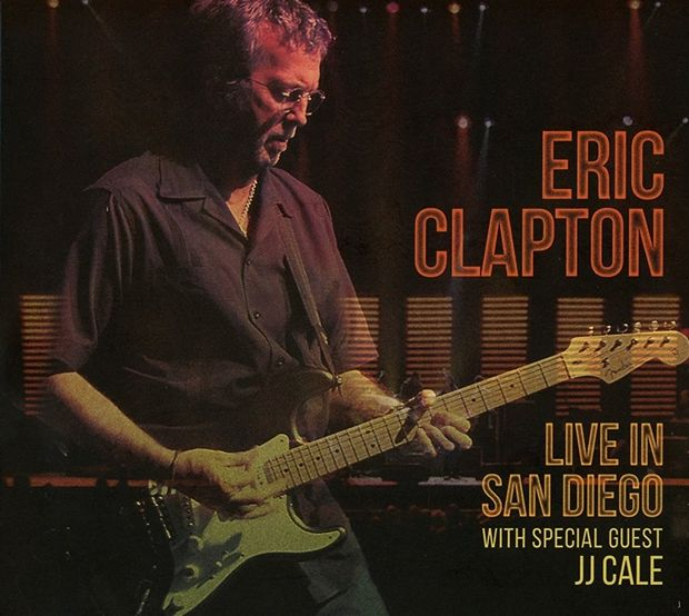 『LIVE IN SAN DIEGO with Special Guest J.J.CALE』ERIC CLAPTON