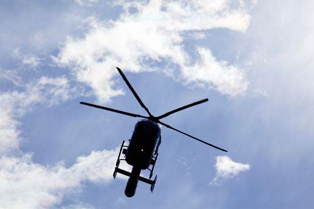 オスプレイに比べて、ヘリコプターなら空中給油の危険は低い(※写真はイメージ)