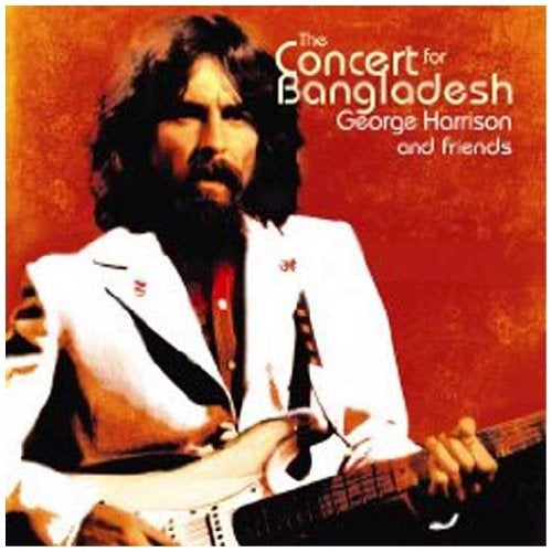 『CONCERT FOR BANGLADESH』GEORGE HARRISON with ERIC CLAPTON and BAND《WHILE MY GUITAR GENTLY WEEPS》 Guitar ERIC CLAPTON