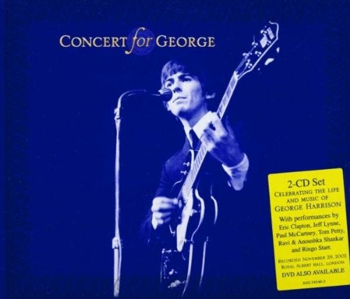 『CONCERT FOR GEORGE』VARIOUS ARTISTS《WHILE MY GUITAR GENTLY WEEPS》 Guitar ERIC CLAPTON