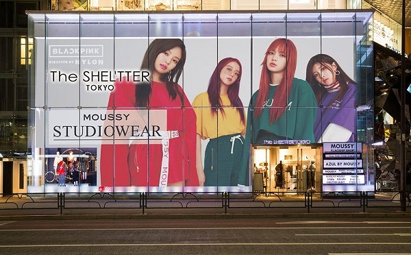 BLACKPINKが「NYLON JAPAN」「SHEL'TTER」とコラボ
