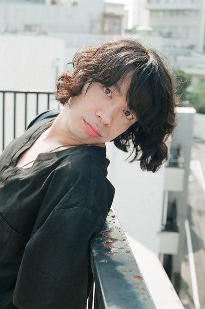 愛らしい顔の峯田和伸