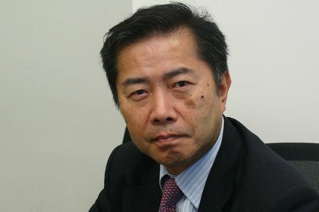 郷原信郎氏 (c)朝日新聞社