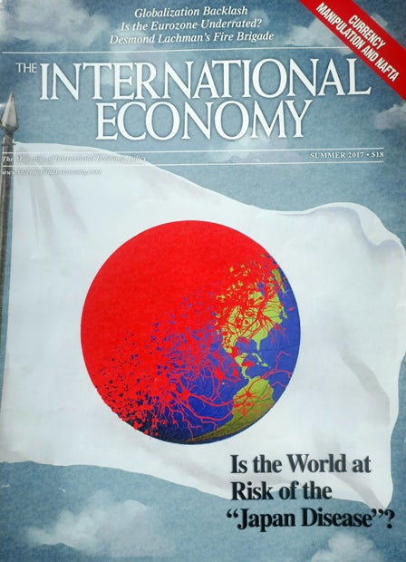 雑誌「THE INTERNATIONAL ECONOMY」