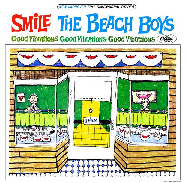 「good vibrations」が収録されているTHE BEACH BOYSの『SMILE』