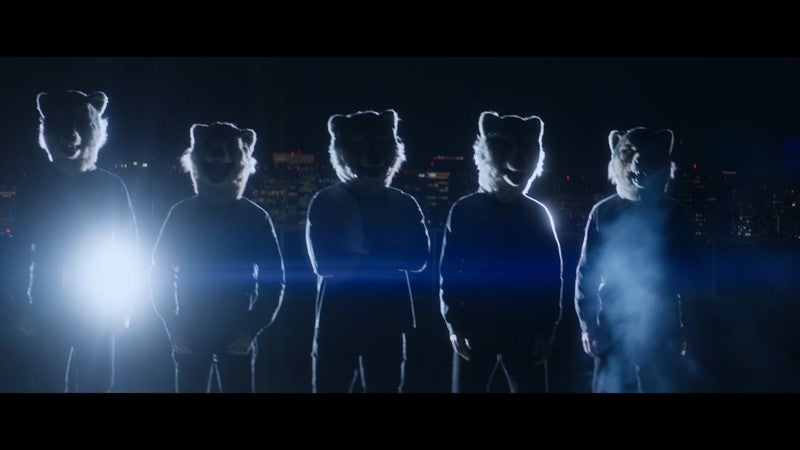 MAN WITH A MISSION 新曲「The Anthem」起用のMicrosoft Surfaceムービー公開
