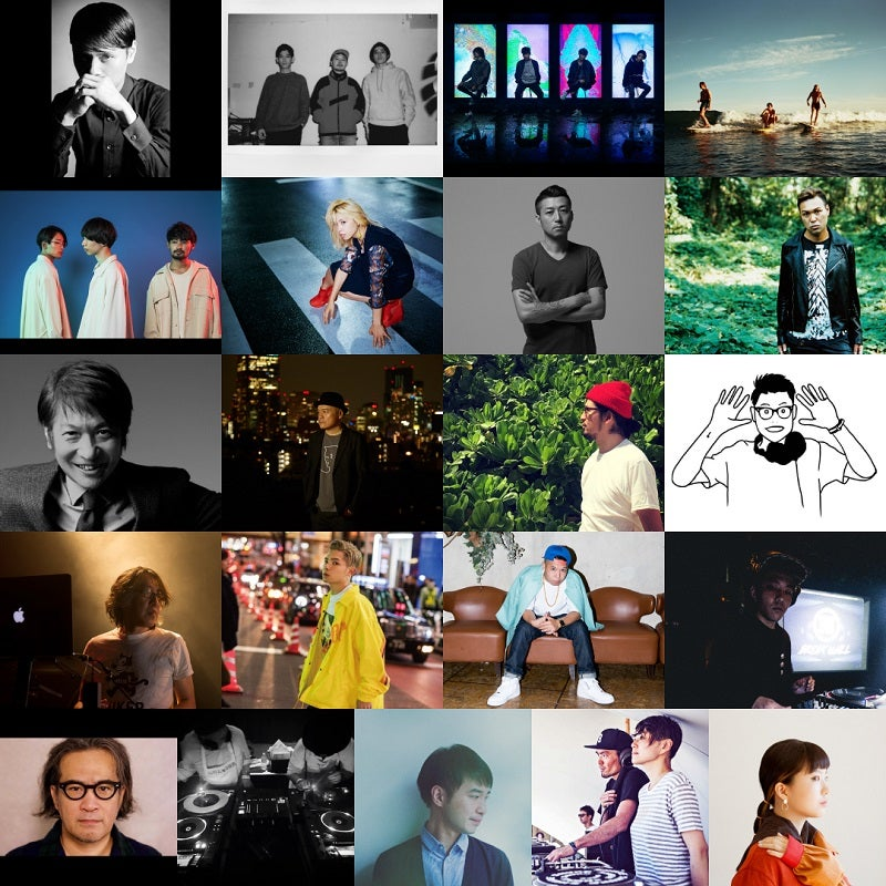 【GREENROOM FESTIVAL'18】最終アーティスト発表 MONDO GROSSO、D.A.N 、DATS他21組の追加が決定