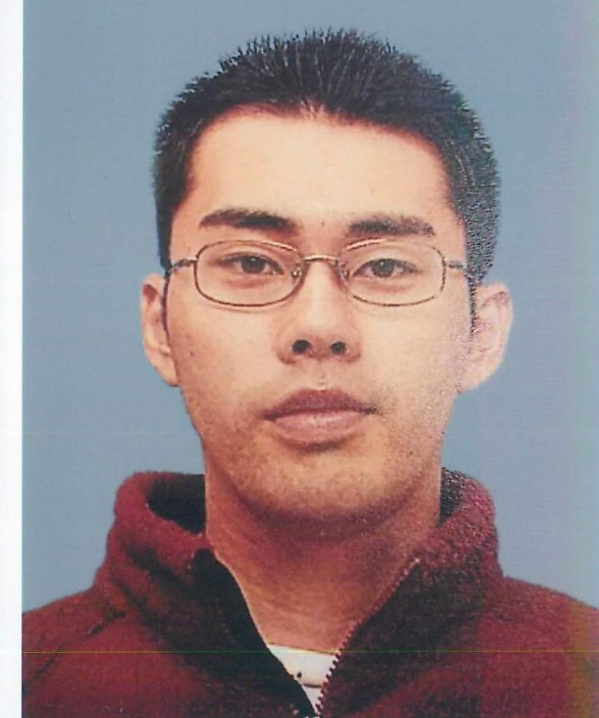 交番襲撃拳銃強奪事件で府警に17日に逮捕された飯森裕次郎容疑者(提供)