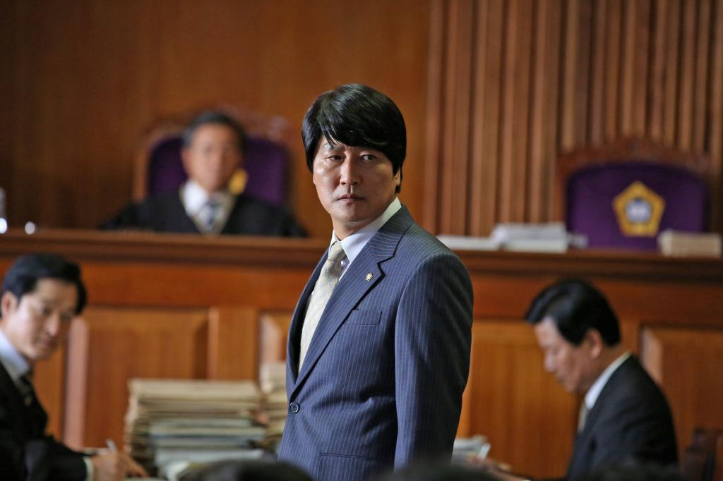 韓国で大ヒットした映画「弁護人」(C)2013 Next Entertainment World & Withus Film Co. Ltd. All Rights Reserved.