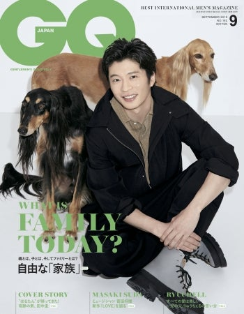 『GQ JAPAN』2019年9月号  Photographed by SASU TEI @ WTOKYO (C) 2019 CONDE NAST JAPAN. All rights reserved.