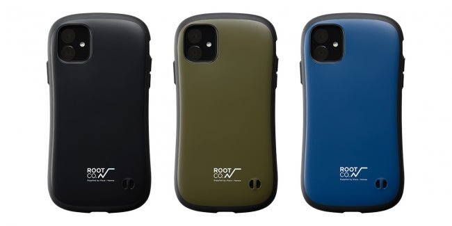 GRAVITY Shock Resist Case (ROOT CO.×iFace Model)カラーバリエーション