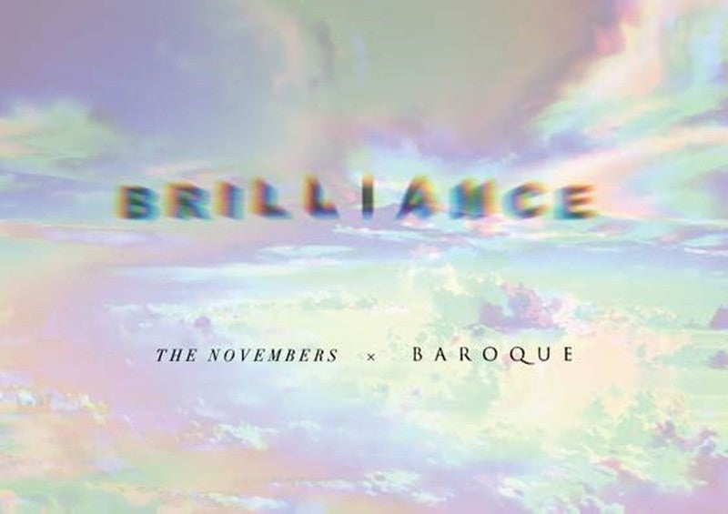 BAROQUE×THE NOVEMBERS、東名阪2マンツアー【BRILLIANCE】12月開催決定