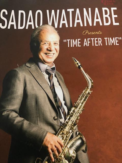 "COTTON CLUB SADAO WATANABE ""TIME AFTER TIME""フライヤー"